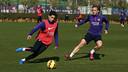 Les joueurs à l'entrainement / MIGUEL RUIZ-FCB