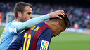 Duda et Neymar, au Camp Nou / MIGUEL RUIZ-FCB
