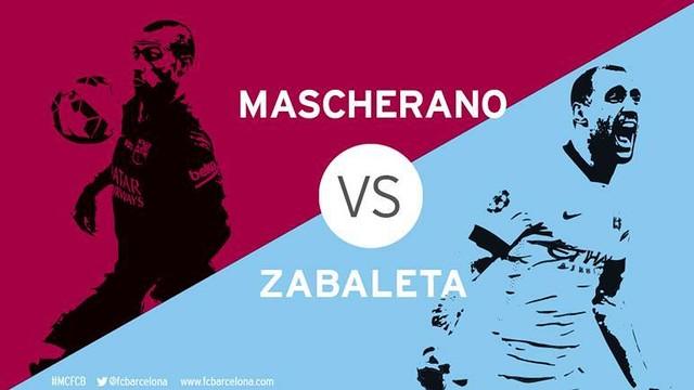 Mascherano v Zabaleta