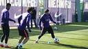 El Barça ya se centra en el duelo de Champions en Manchester / MIGUEL RUIZ - FCB