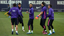The squad were back in training on Thursday / MIGUEL RUIZ-FCB