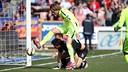 Ivan Rakitic played a part in all three goals against Granada / MIGUEL RUIZ-FCB