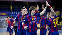 Barça posted another big win against Frigoríficos Morrazo / GERMÁN PARGA