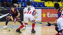 Imagen del Barça-Vic del Palau en la primera vuelta. FOTO: Arxiu FCB