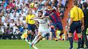 Carvajal y Neymar, en el Clásico de la primera vuelta / MIGUEL RUIZ-FCB