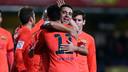 Xavi and Neymar / MIGUEL RUIZ-FCB