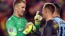 Hart and Ter Stegen / MIGUEL RUIZ - FCB