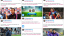 The Social Media Hub of El Clásico