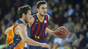 FC Barcelona are 17-8 in the ACB after losing in Valencia / FCB ARCHIVE