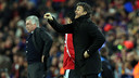Luis Enrique, lors du match contre le Real Madrid / PHOTO: MIGUEL RUIZ