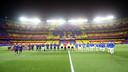 El mosaic del FC Barcelona - Reial Madrid / FOTO: MIGUEL RUIZ