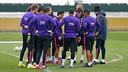 El Barça ha entrenado con 10 efectivos / MIGUEL RUIZ - FCB