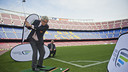 Camp Nou welcomes a delegation from the Ryder Cup / VICTOR SALGADO
