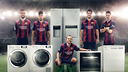 Piqué, Neymar, Iniesta, Suárez and Messi stars of the new Beko campaign / FCB