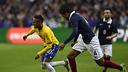 Neymar Jr ha marcado el segundo gol de Brasil contra Francia en Saint-Denis / FIFA.COM