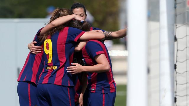 The team celebrate a goal against Real Sociedad/ MIGUEL RUIZ-FCB