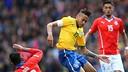 Neymar en una acción durante el partido ante Chile / FIFA.COM