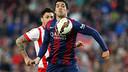 Luis Suárez pendant la rencontre / MIGUEL RUIZ - FCB