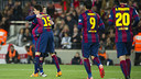 Marc Bartra scored his first goal of the season on Wednesday night / VICTOR SALGADO - FCB