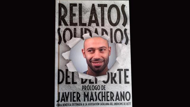 Portada del llibre on es veu la cara de Mascherano