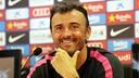 Luis Enrique, en roda de premsa / MIGUEL RUIZ - FCB