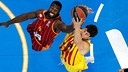 Ante Tomic was Barça's best performer on the night / EUROLEAGUE