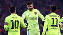 Gerard Piqué has scored 26 goals in 299 games for Barça. / FCB ARCHIVE