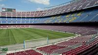 Imatge de les grades del Camp Nou