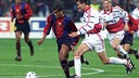 Rivaldo in action in the group stage 1998/99 / FCB-Archive