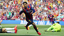 Suárez during the last game played at Camp Nou / MIGUEL RUIZ-FCB