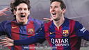 Lionel Messi has provided Barça fans with multitudes of unforgettable moments in his ten-year career. / FCB PHOTOMONTAGE