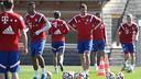 Le Bayern à l'entraînement / fcbayern.de