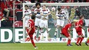 Bayern Munich rested several key players in Saturday's loss at Bayer Leverkusen. / fcbayern.de