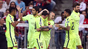 FC Barcelona knocked out Bayern Munich on Tuesday by an aggregate score of 5–3. / MIGUEL RUIZ - FCB