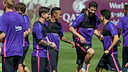 FC Barcelona will train four times in the week leading up to the Spanish Cup Final. / FCB ARCHIVE