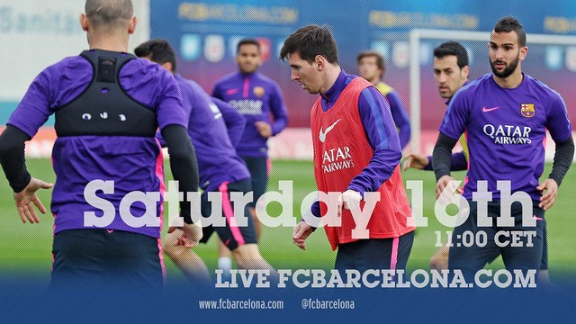 First team training session (16/05/15)