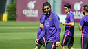 Luis Suárez s'est entrainé sans autorisation médicale / MIGUEL RUIZ - FCB