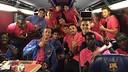 La tornada del Barça B des de Miranda / FCB B
