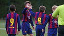 Two of this week's goals came from the U10 C team / MIGUEL RUIZ - FCB