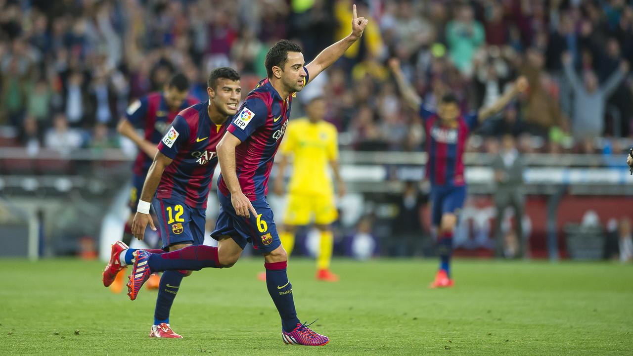 Gol de Xavi al Getafe / MIGUEL RUIZ-FCB