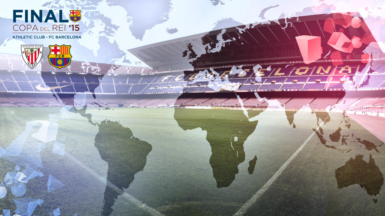 When does the game start where you are? We have the answer / FCB