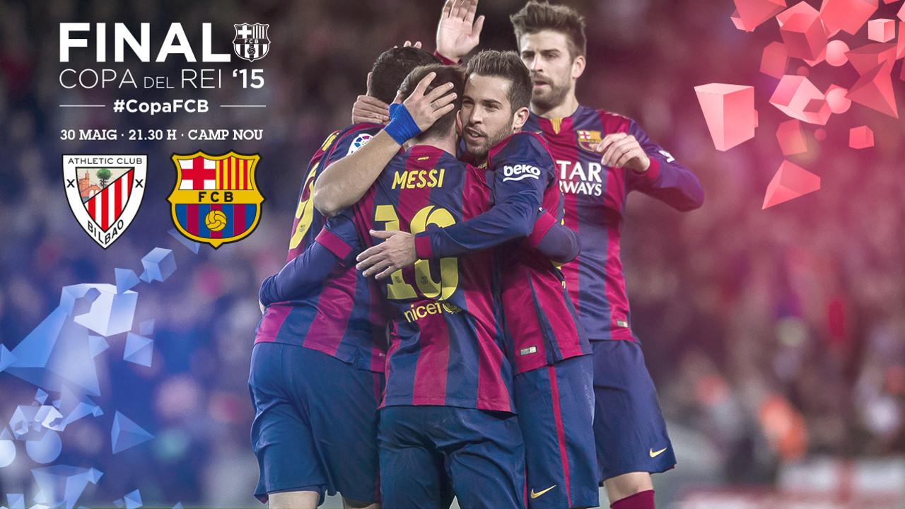 Final de Copa entre Barça i Athletic Club / FCB