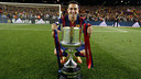 Xavi with the Spanish Cup / MIGUEL RUIZ - FCB