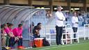 Vinyals, durante el partido contra el Leganés / VICTOR SALGADO - FCB