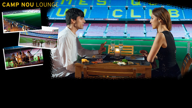 The Camp Nou Lounge is back from 12 June / FCB