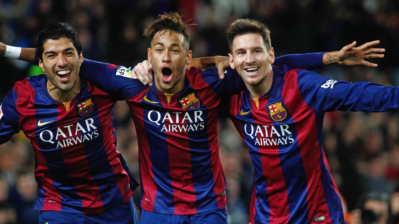 Le trio magique du FC Barcelone