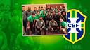 Neymar and his international team-mates / INSTAGRAM NEYMAR JR