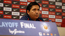 Xavi Pascual is optimistic about his team's chances in game three / MIGUEL RUIZ - FCB