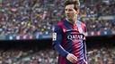 Messi, en action