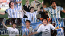 Leo Messi led Argentina to glory at the U20 World Cup in 2005 / FCB photomontage